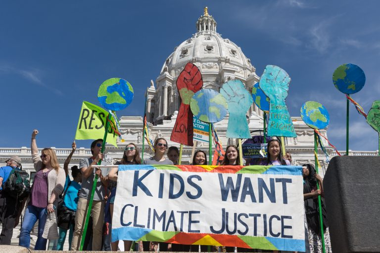 Kids want climate justice - billede af Lorie Shaull - https://www.flickr.com/people/11020019@N04